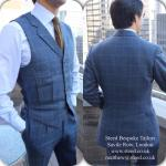 Steed Bespoke with Signature Pleated Waistcoat