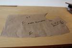 Bespoke Paper Pattern